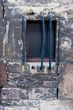 Alte und schmutzige Wand Lizenzfreie Stockfotos