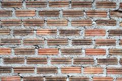 Alte und verfallene Backsteinmauern lizenzfreie stockfotografie