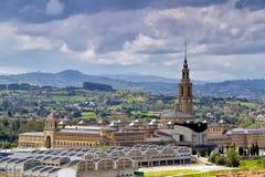 Alte Universität von Gijon, Spanien Lizenzfreies Stockbild