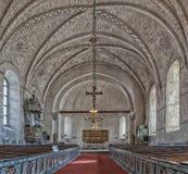 Alte Uppsala-Kirche Lizenzfreie Stockbilder