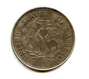 Alte USA-Münze Stockfotos