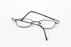 Alte verbogene Gläser lizenzfreie stockbilder