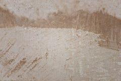 Alte verkratzte Betonmauer Stockbild