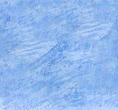 Alte verkratzte blaue Wandbeschaffenheit, Hintergrund Stockfotos