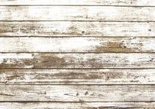 Alte verkratzte weiße hölzerne Beschaffenheit Stockfotos