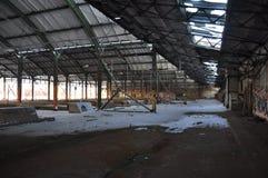 Alte verlassene Bahnstation Lizenzfreies Stockbild