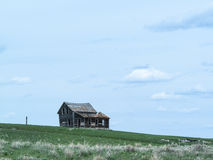 Alte verlassene Bauernhofnahaufnahme Lizenzfreies Stockbild