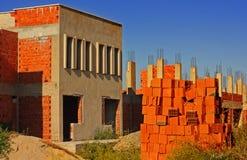 Alte verlassene Baustelle Stockfoto