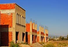 Alte verlassene Baustelle Lizenzfreies Stockfoto
