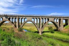 Alte verlassene Brücke Lizenzfreie Stockfotografie