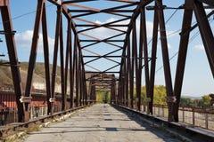 Alte verlassene Brücke Lizenzfreies Stockbild