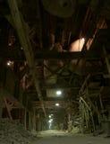 Alte verlassene Fabrik stockfoto