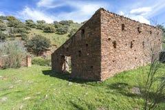 Alte verlassene Mühle Lizenzfreies Stockfoto