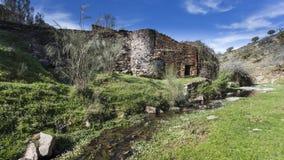 Alte verlassene Mühle Lizenzfreies Stockbild