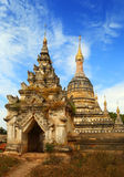 Alte verlassene Pagode in Bagan Stockfoto