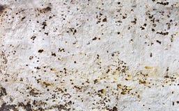 Alte verrostete Blechtafel Rostige Oberfläche verursacht durch Oxidationseisen w Lizenzfreie Stockfotografie