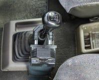 Alte Version des manuellen schwarzen Verschlusses des Gangs schützen sich Stockbilder