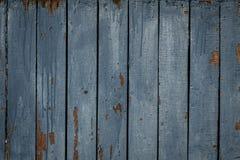 Alte vertikale blaue Bretter, Hintergrund, Beschaffenheit Lizenzfreie Stockbilder