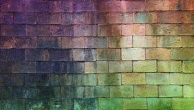 Alte verwitterte Backsteinmauerbeschaffenheit für Hintergrund Lizenzfreie Stockbilder