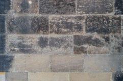Alte verwitterte Backsteinmauerbeschaffenheit, Hintergrund, Nahaufnahme Lizenzfreies Stockbild