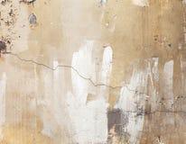 Alte verwitterte Betonmauer, Beschaffenheit mit Sprüngen Lizenzfreies Stockfoto