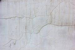 Alte verwitterte Betonmauerbeschaffenheit mit der Anzahl der Kratzer Lizenzfreie Stockfotos