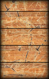 Alte verwitterte gebrochene flockige hölzerne lamellierte Block-Brett Platte Vignetted-Schmutz-Beschaffenheit Lizenzfreie Stockfotos