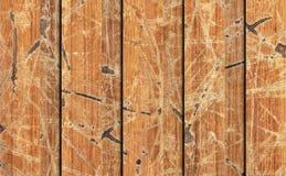Alte verwitterte gebrochene flockige hölzerne lamellierte Block-Brett Platten-Schmutz-Beschaffenheit Lizenzfreie Stockfotografie