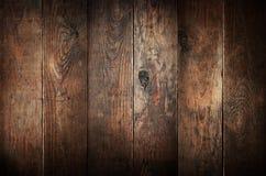 Alte verwitterte hölzerne Planken. Stockbild