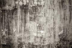Alte verwitterte leere Betonmauer lizenzfreies stockbild