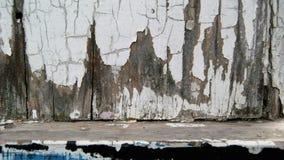 Alte verwitterte Malerarbeiten Stockfotografie