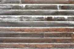 Alte verwitterte und Schalen-Holz-Zusammenfassung Stockfotos