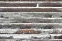 Alte verwitterte und Schalen-Holz-Zusammenfassung Lizenzfreies Stockfoto