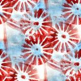Alte Verzierung des Schmutzes, die buntes Blau USA zeichnet, Stockfotografie