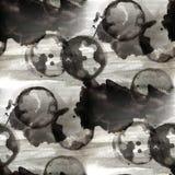 Alte Verzierung des Schmutzes, die schwarze USA bunt zeichnet Stockfotos