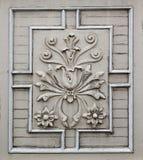 Alte Victorianblumenfassade Stockfotografie