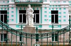 Alte Villa. Fragment. Lizenzfreie Stockfotografie