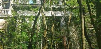 Alte Villa lizenzfreie stockbilder