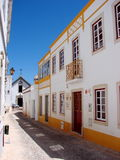 Alte village street, Portugal stock image