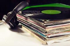 Alte Vinyle Stockbilder