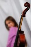 Alte Violine Stockfoto