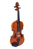 Alte Violine auf einem weißen Hintergrund Lizenzfreie Stockfotos