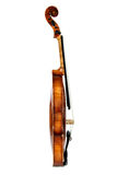 Alte Violine, auf einem weißen Hintergrund Lizenzfreie Stockfotografie