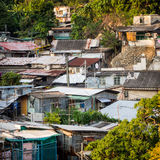 Alte vorübergehende Wohnung Lizenzfreies Stockbild