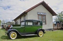 Alte 1928 vorbildliches T Ford Auto Lizenzfreies Stockfoto