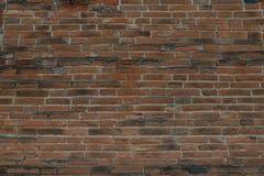 Alte Wände des roten Backsteins Lizenzfreie Stockfotos