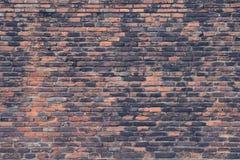Alte Wände des roten Backsteins Lizenzfreies Stockbild