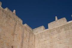 Alte Wände von Aleppo Stockbild