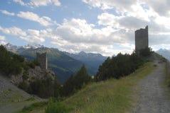 Alte Wachtürme Stockbild