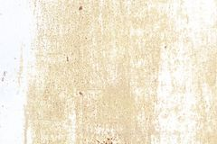 Alte Wand Beschaffenheitsmetalltür es wurde im Weiß gemalt Platzrostschmutz Lizenzfreie Stockbilder